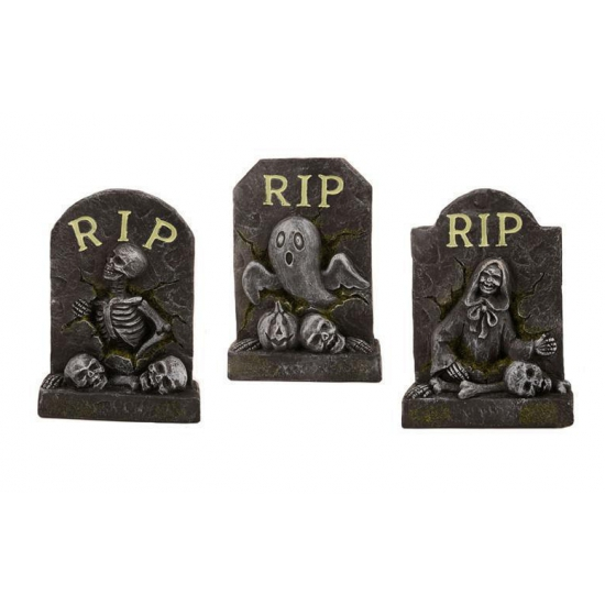 Halloween Versiering Grafsteen 14 Cm kopen