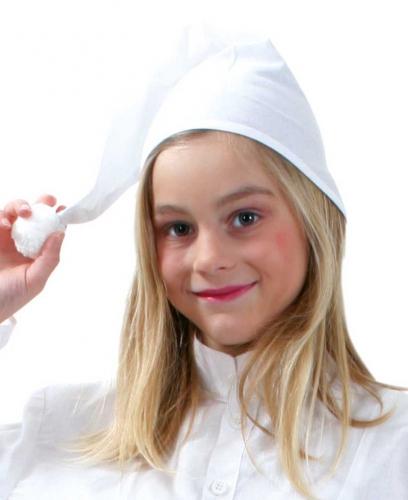Kinder Slaapmuts In De Kleur Wit kopen