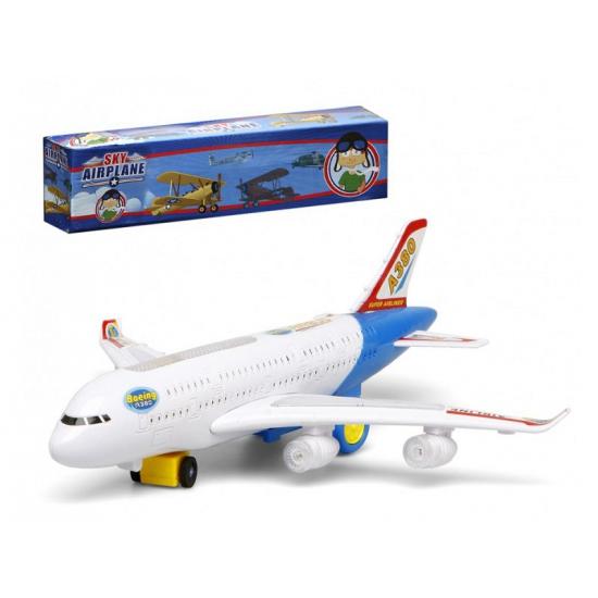 Speelgoed Vliegtuig Wit Met Licht En Geluid kopen