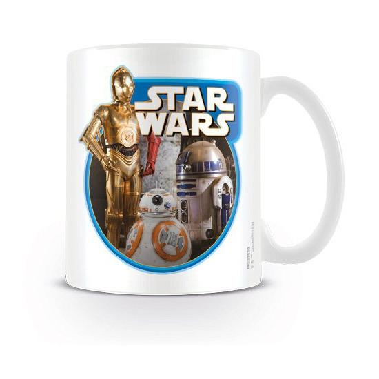 Star Wars koffiemok robots